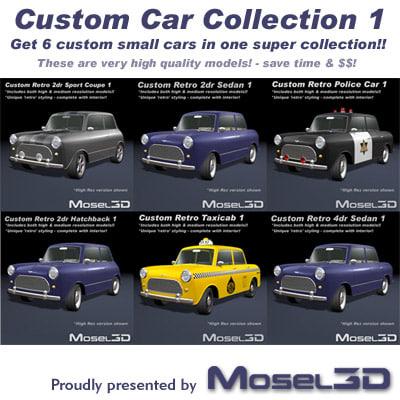 max custom car retro