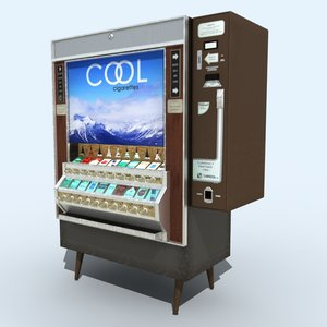 3d cigarette vending machine