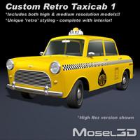 Taxicab Retro Car 1