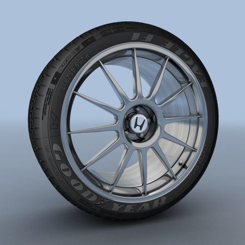 max honda s 2000 wheel tyre