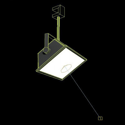 maya light assembly hqi