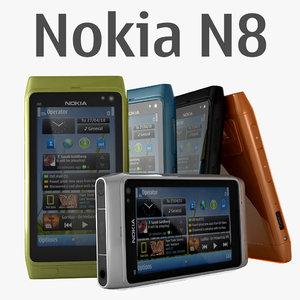 nokia n8 3d model