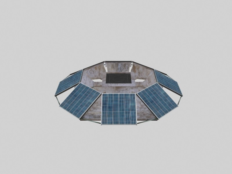free 3ds mode solar power station