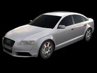 Audi A6 Low Poly