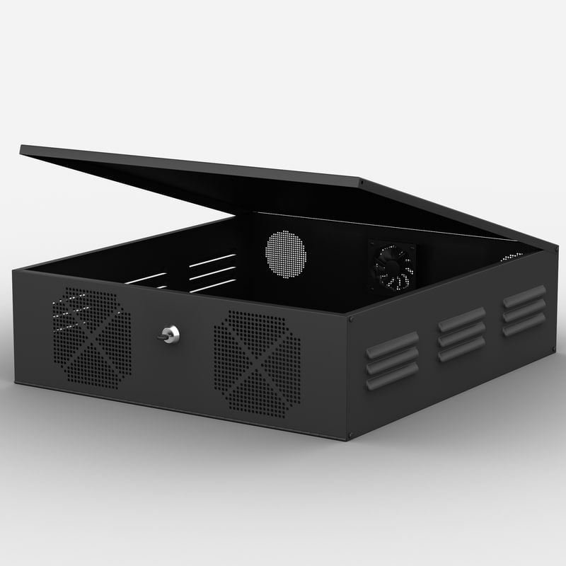 3ds max vcr lock box clover
