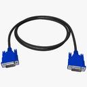 VGA Cable Plug 3D models