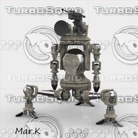war robot scout 3d 3ds