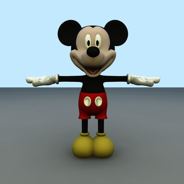 mickey mouse fbx