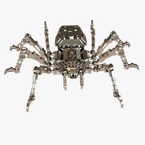 machine spider 3d max