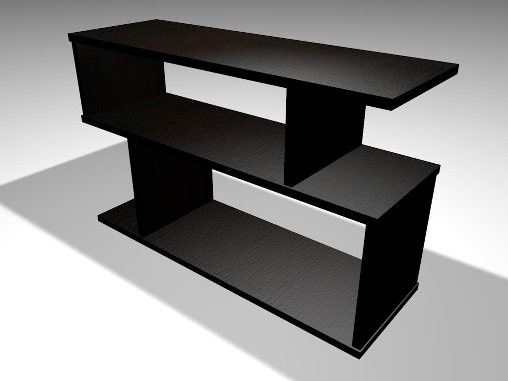 3d model table tv