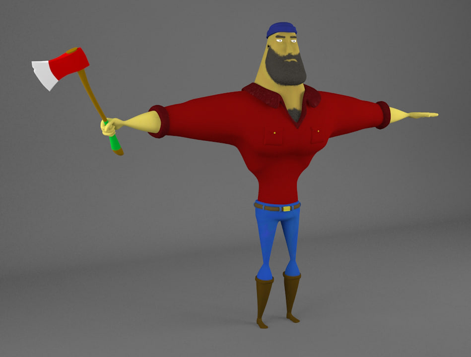 rigging character max
