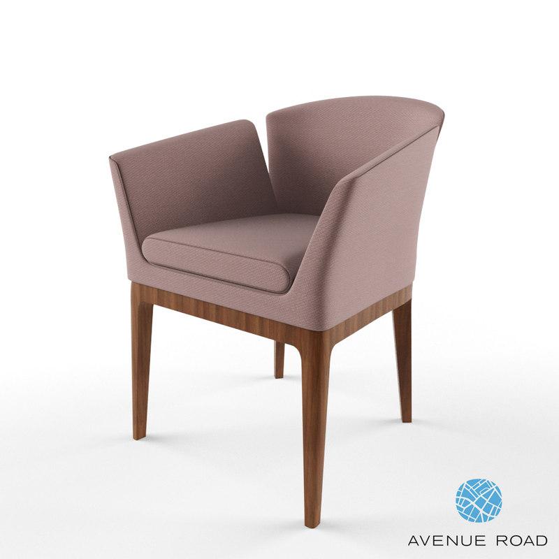 3dsmax avenue road chair
