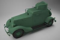 20 armored car 3d max