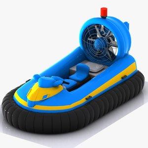 car hovercraft craft 3ds