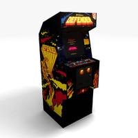 arcade coin 3d model