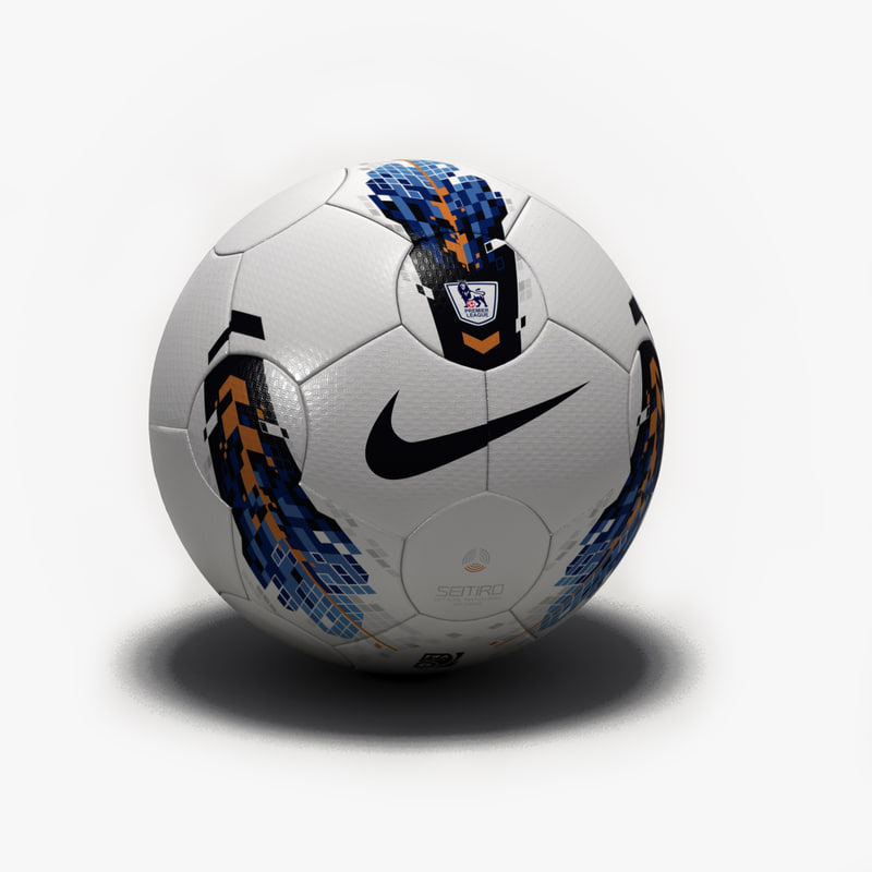 nike t90 seitiro ball 3d model