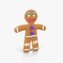 gingerbread man 3D models