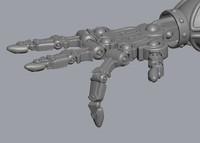 mech palm machine hand max