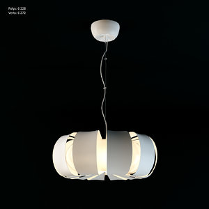 3ds max ikea stockholm lamp