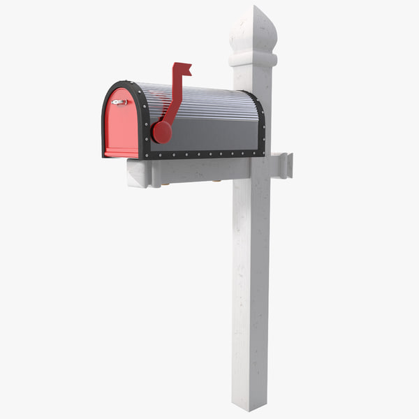 3d model mailbox 2