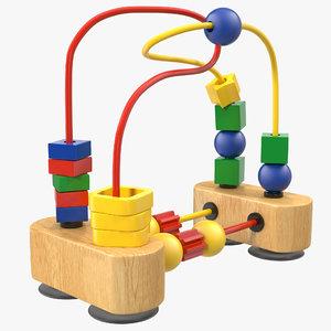3d bead maze