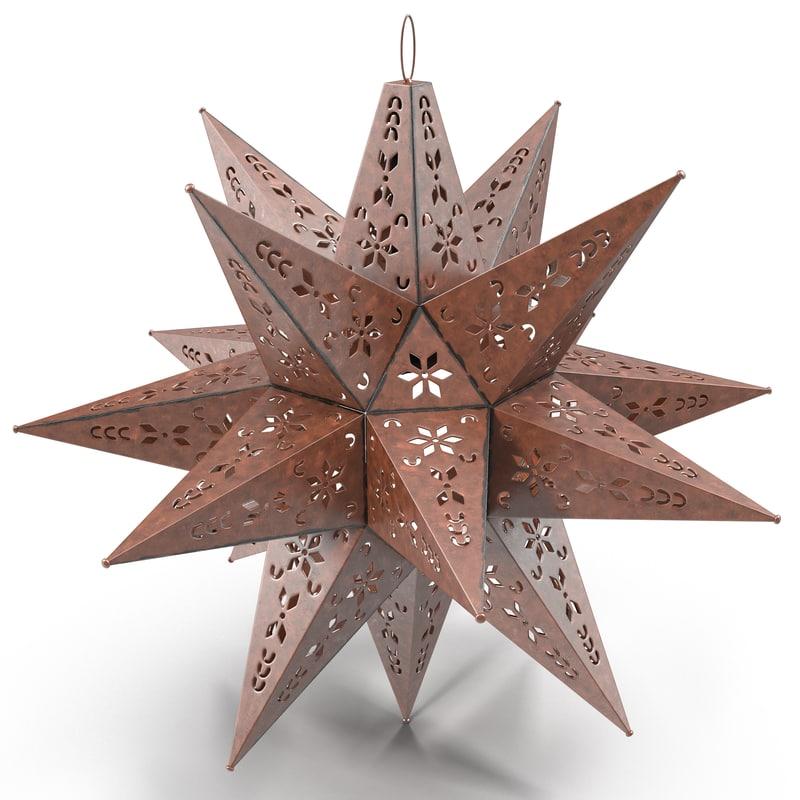max star lantern design