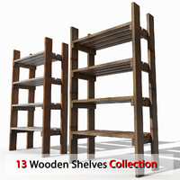 Rough Wooden Shelving stock inventory ware logistics store shop depot stock goods yard