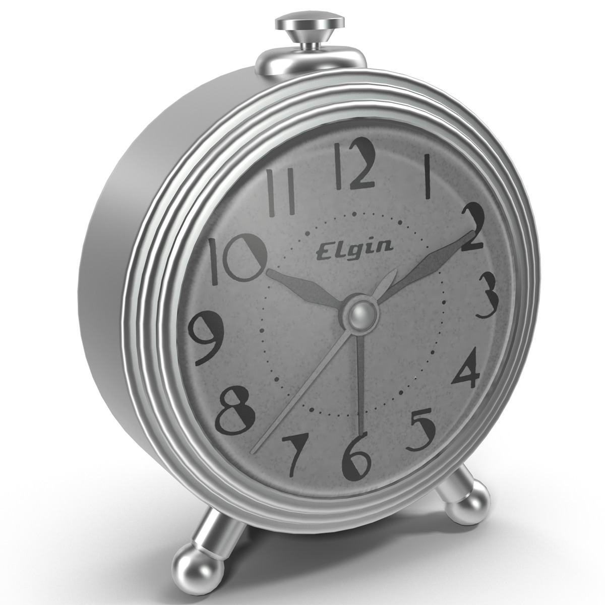 3ds max elgin tradiational alarm clock