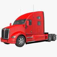 truck t700 obj