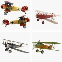 3ds world war plane d