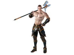 3d model royal executioner