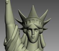 statue liberty 3d model