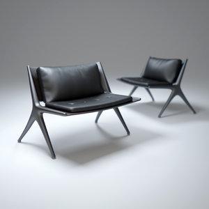 dc90-chair 3d model