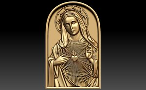 immaculate heart mary 3d 3ds