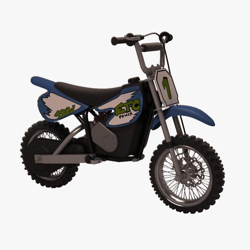 3d electrical bike model
