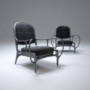 3ds max twentytwo-armchair