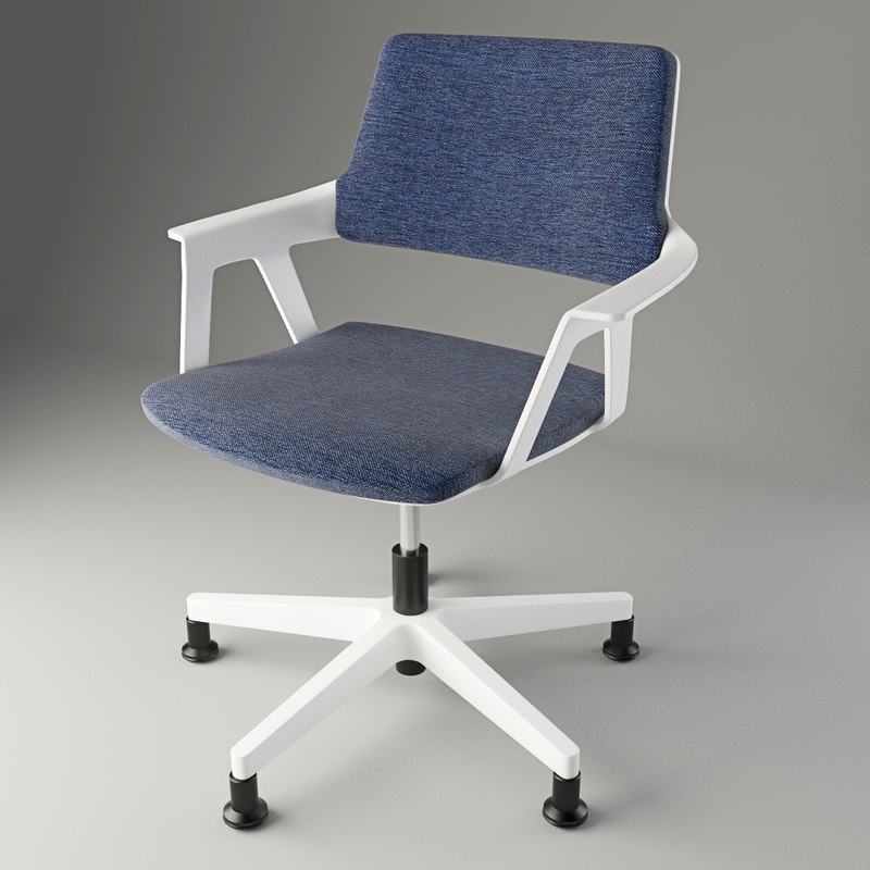 3d interstuhl chair model