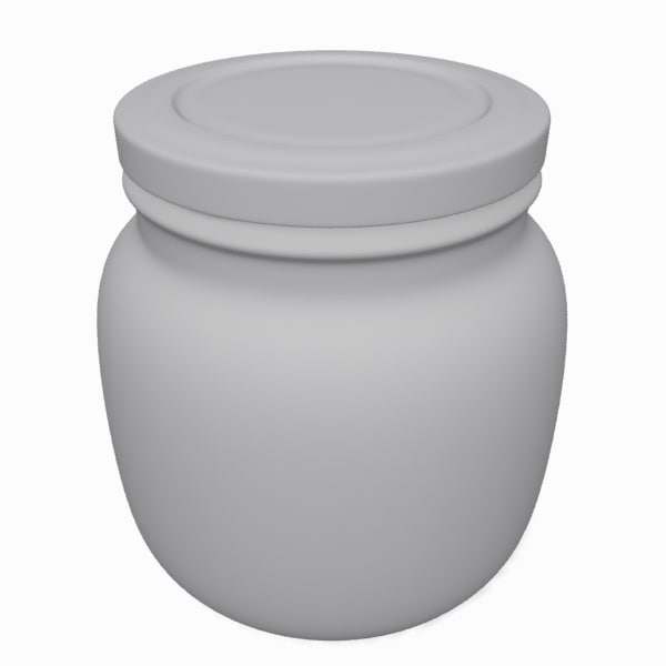 3d model jar