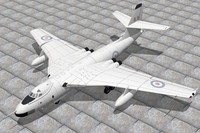 vickers valiant 3d model