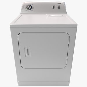3d whirlpool loading electric dryer