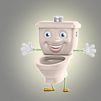 cartoon toilet max