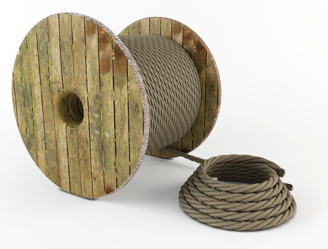 3ds max rope reel