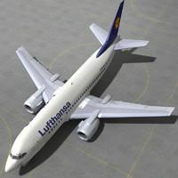 boeing 737 500 - 3ds