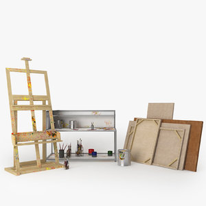 max painter easel canvas