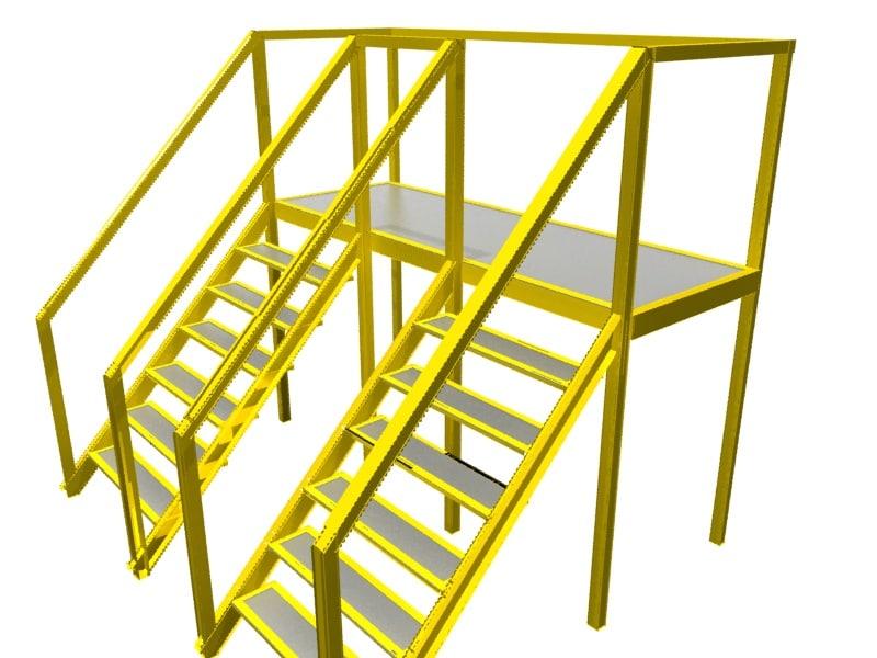 conveyor crossovers 3d max