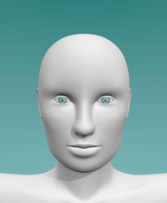 female body 3d 3ds