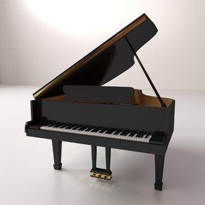 3ds grand piano