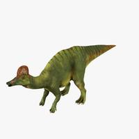 3d hadrosaurus