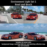 lighting set poser 3d pz3