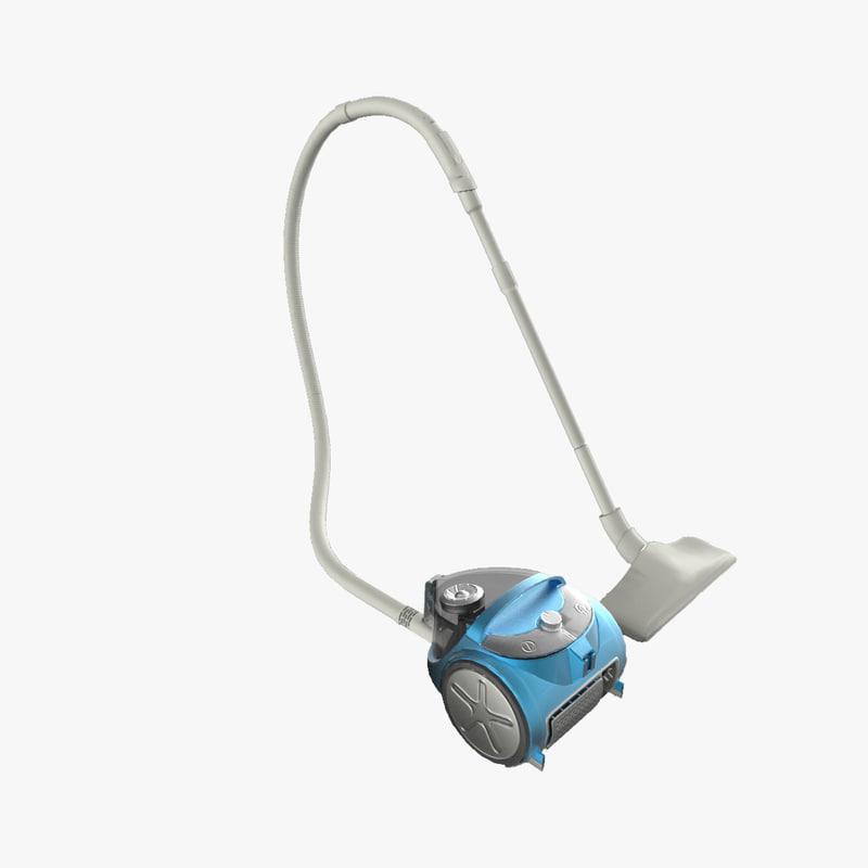 3d model philips vacuum cleaner